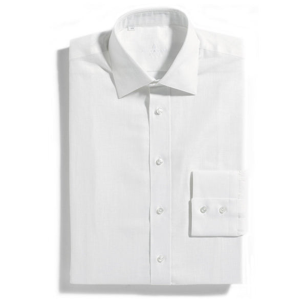 Barbados White Linen mix shirt - Alexandra Wood