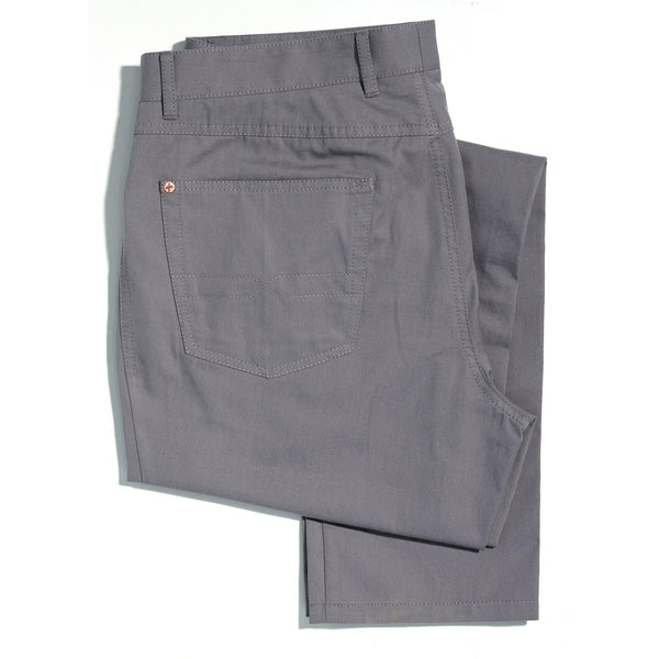Californian Slate Grey Lightweight chinos - Alexandra Wood