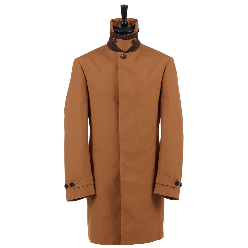 Creamy Toffee Raincoat (Limited Edition) - Alexandra Wood