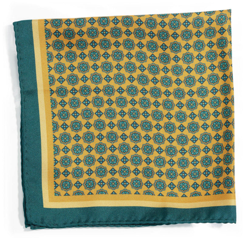 Colourful Capri silk pocket square - Alexandra Wood