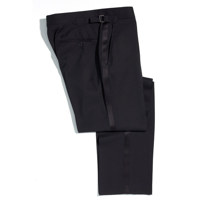 Film Noir Black Evening trousers - Alexandra Wood