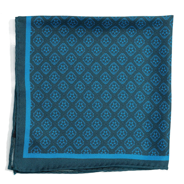 Florentia Citta luxury silk pocket square - Alexandra Wood