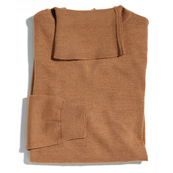James Dean camel roll neck - Alexandra Wood