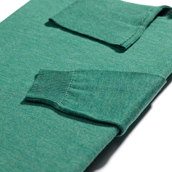 James Dean green roll neck - Alexandra Wood