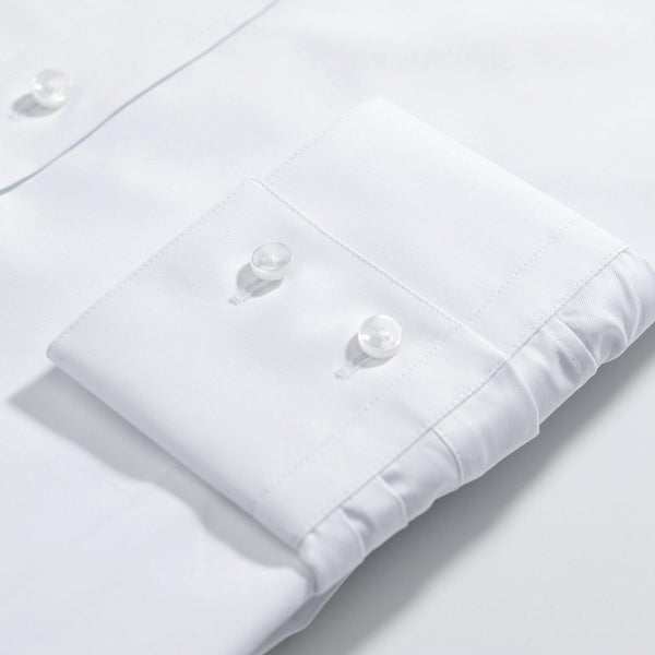 The London Classic white single cuff shirt - Alexandra Wood
