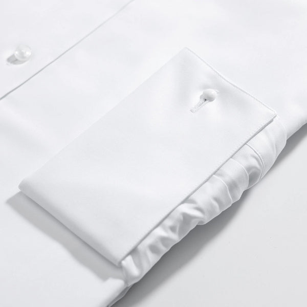 The London Classic White double cuff shirt - Alexandra Wood