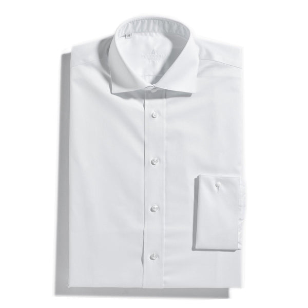 The London Classic White double cuff shirt