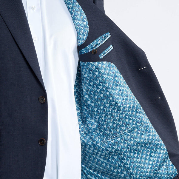 Monaco Navy Mesh Sports jacket - Alexandra Wood
