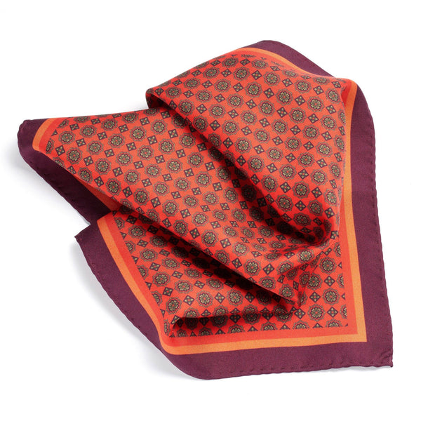 Milanese Delight Pocket Square - Alexandra Wood