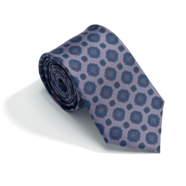 Positano Haze luxury silk tie - Alexandra Wood