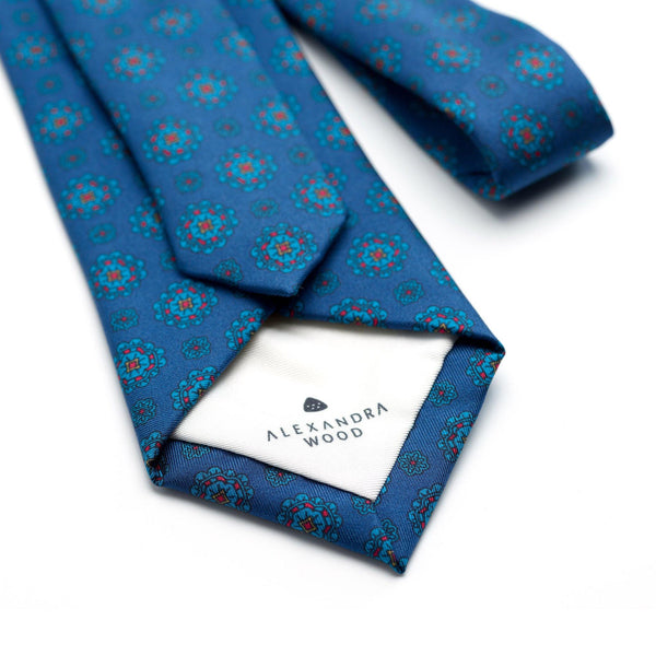 Puglia luxury silk tie - Alexandra Wood