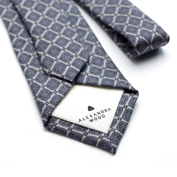 Roman Empire Luxury Silk Tie - Alexandra Wood
