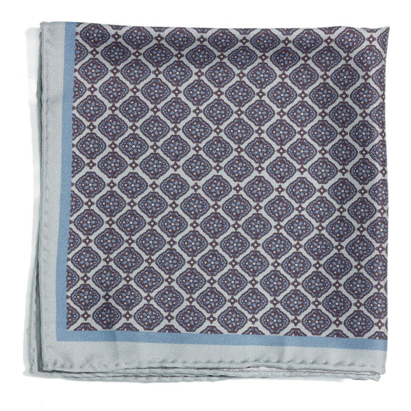 Roman Empire silk pocket square - Alexandra Wood