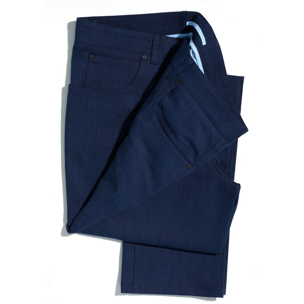 San Francisco bright blue lightweight jeans - Alexandra Wood