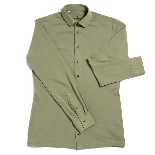 Pique district tailored cotton shirt - Alexandra Wood