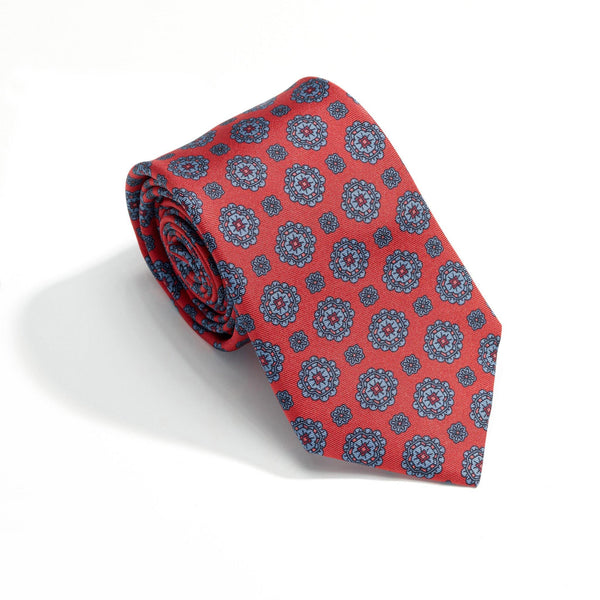 Trevi Fountain luxury silk tie - Alexandra Wood