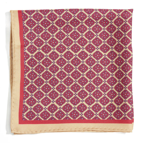 Venetian Square silk pocket square - Alexandra Wood