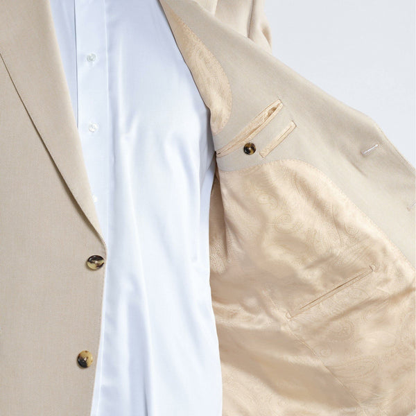 The Wimbledon Cream sports jacket - Alexandra Wood