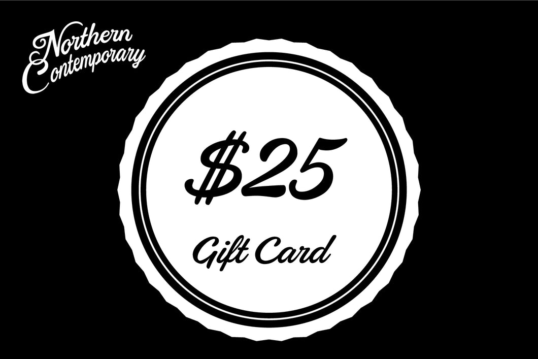 Northern Contemporary Gift Card