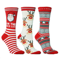 Fashion Christmas Socks Santa Claus Gift Kids Unisex Xmas Funny Socks FOR Lady Women Santa Stockings 2020