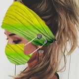 Elastic Print Headband Women Color Wide Hair Band Fashion Stretch Headwrap Bandana Turban Headwear cospaly