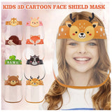 Children Mascarillas Lavables Face Mask fashion Outdoor Children Kids Boy Girl Cartoon Face Shields Cover Mask With Elastic Band