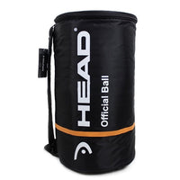 Professional HEAD Tennis Bag Large Capacity For 100 pcs Tennis Balls CCT Insulation Single Shoulder For Male Female Sports
