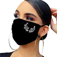 2020 Decorations For Women fashion Face Mask Butterfly print Cover Face Jewelry Cosplay Decor Party Gift