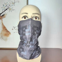 Multifunctional printing magic head scarf cosplay scarf Variety Turban Headband  woman hijab  outdoor  man Riding mask Face mask