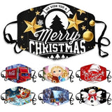 Christmas Outdoor Face Cover Fashion Outdoor Mask Scarves Multi Functional Seamless Hairband Head Scarf Bandana Neck Cover