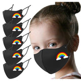 Scarf Flag Rainbow Cosplay Kids Fashion Printed Designer Reusable Bandana Scarf Adjustable Festive Cosplay Accessory