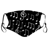 Scarf Flag Cosplay Adult Fashion pause Printed Designer Reusable Bandana Scarf Adjustable Festive Cosplay Accessory