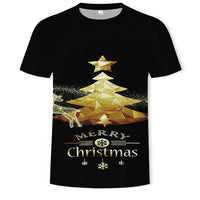 2020 Harajuku Graphic men's T Shirts Plus Size men Short Sleeve Christmas 3d Printed O-Neck Tops Tee oversized T-shirt