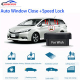 XINSCNUO New Smart electronics window lift For Toyota Wish 2011-2016 2017 2018 2019 Auto OBD Speed Lock & Window closer