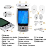 Tens MassagerMachine  EMS Electronic Pulse Massager Electrical Nerve Muscle Stimulator Acupuncture Low Frequency Physiotherapy