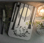 MOOMIN Muurla | In The Woods | Bretti 21x31cm