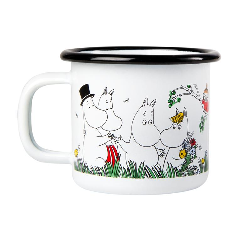 MOOMIN Muurla |  Happy family, bolli 1,5dl