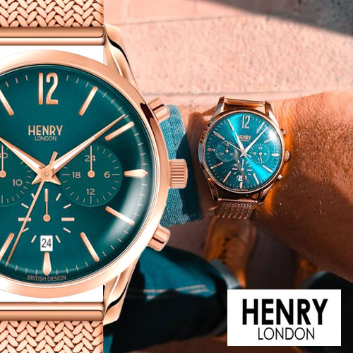 HENRY LONDON Stratford Chronograph 39mm