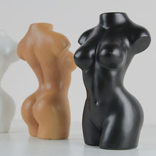 Load image into Gallery viewer, Ceramic Female Torso Vase
