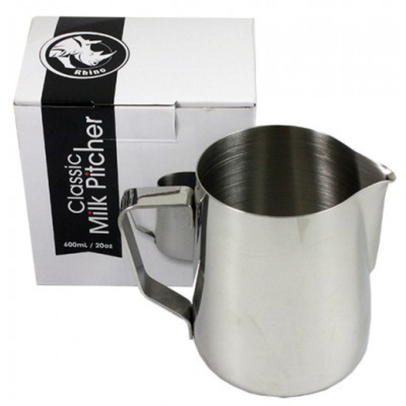 Rhino Classic Milk Pitcher - 20oz/600ml