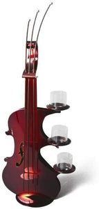 Candle Holder Décorative  Violin Handmade by Artisans