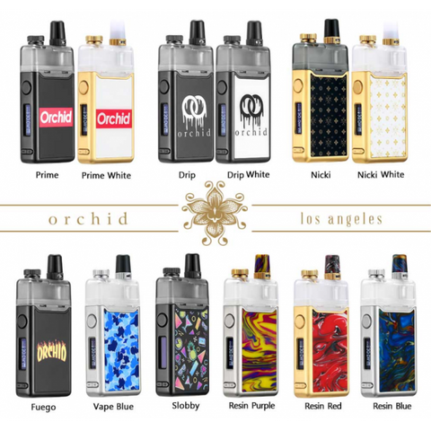 Squid Industries - Orchid Kit | Pod System | Starter Kit