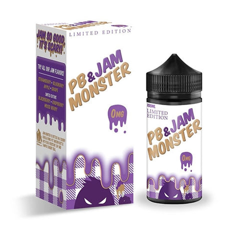 Jam Monster - PB & JAM 100mL | E-Liquid