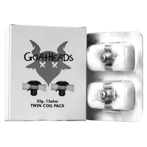 OhmBoy/Recoil - GOATHEADS Twin Coil Pack | Replacement Coils