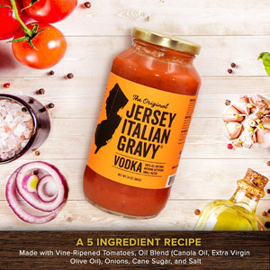 Jersey Italian Gravy Vodka - 24 oz. (1 jar)