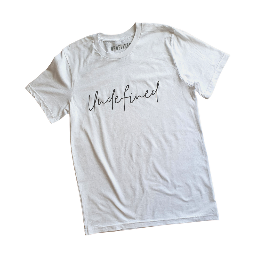 Undefined Tee - White