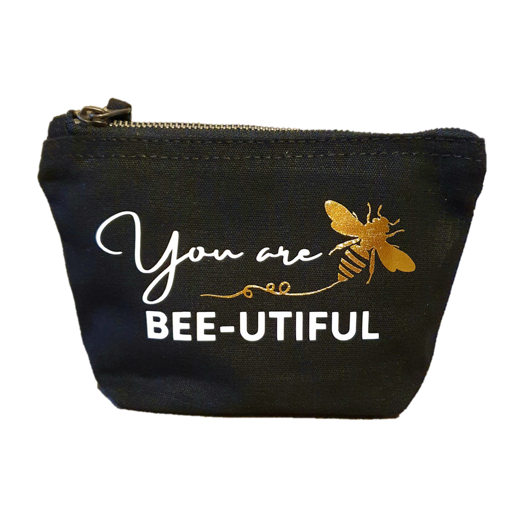 Bee-Utiful Makeup Bag