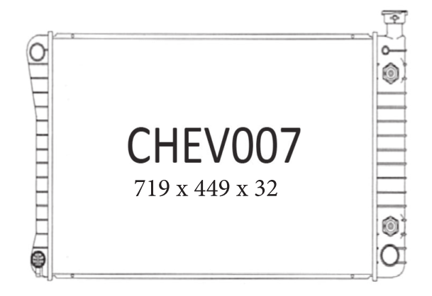 C/K Series Pickup V8 1988-1993 (CHEV007)