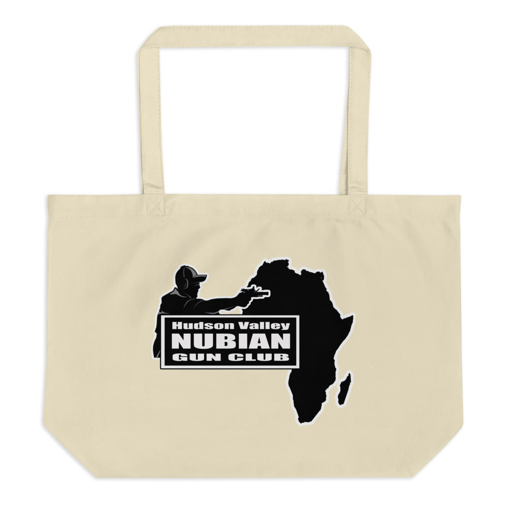 Hudson Valley Nubian Gun Club™ Large organic tote bag