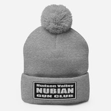 Load image into Gallery viewer, Hudson Valley Nubian Gun Club™ Beanie with Pom-pom
